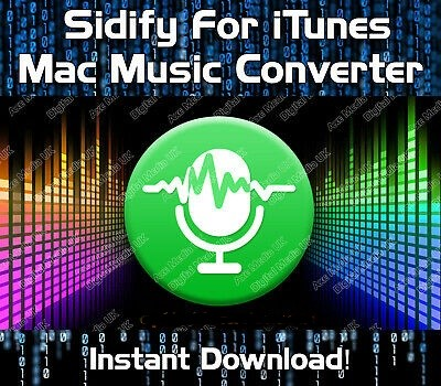 Sidify Music Converter 2.1.1 Crack+Serial Key[Mac Torrent]2020 Latest!