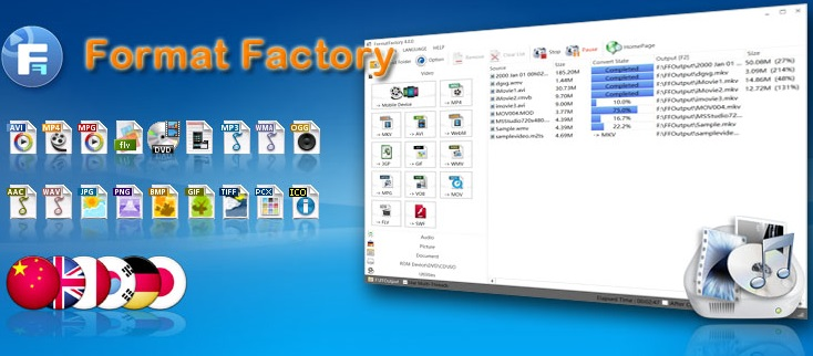 Format Factory 5.3.0.1 Crack Mac+Activation Key Torrent(2020)Latest!